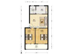 (任城区)众博建材公司商住楼2室1厅1卫