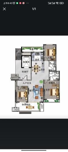 (任城区)济宁尚龙原著3室2厅2卫136万130.21m²出售